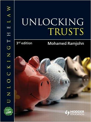 Unlocking Trusts (Unlocking the Law)