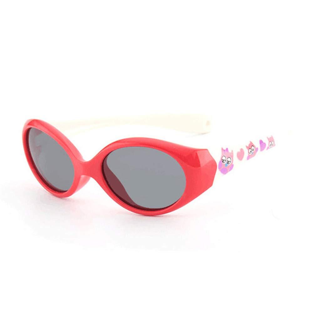 Wang-RX Gafas de sol para niños pequeños polarizadas para ...