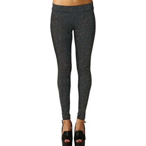 Matty M Women's Leggings Made in USA Charcoal - In Delaware Outlets