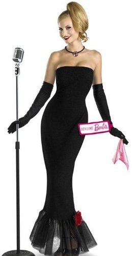 Disguise Womens 60s Retro Vintage Barbie Halloween Costume S/M for $<!--$13.49-->