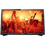 """Philips 4000 series 24PHT4031/12 24"""" HD Black LED TV - LED TVs (61 cm (24""""), HD, 1366 x 768 pixels, LED, 250 cd/m², Flat)"""