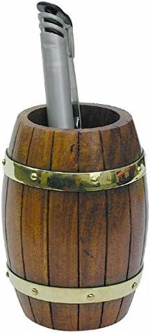 magicaldeco Stifthalter aus Holz und Messing- rustikal