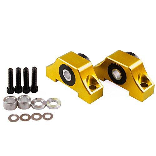 Engine Billet Motor Torque Mount Fit For Honda Civic EG EK B16 B18 B20 D16 Gold (Honda B18c Motor)