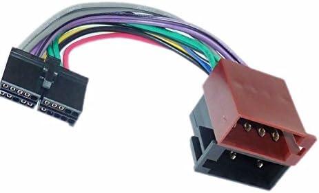 Sound Way Adapterkabel Iso Stecker Kompatibel Mit Autoradio Ministry Of Sound 20 Pin Auto