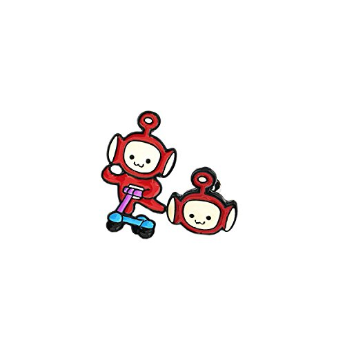Adult Po Teletubbies Costumes (Po Teletubbies Stud Earrings With Gift Box from Outlander Gear)