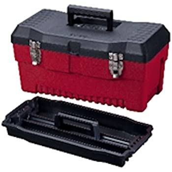Stack-On SHB-16 16-Inch Multi-Purpose Steel Tool Box, Black ...