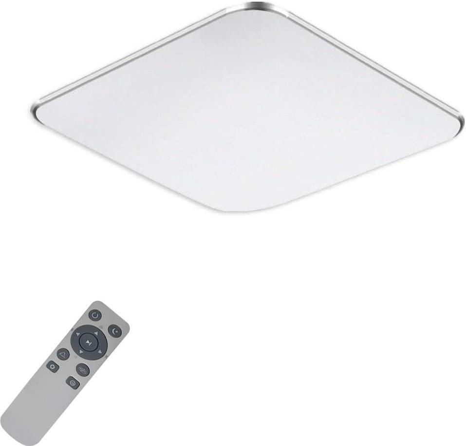 Chambre /à Coucher Classe /énerg/étique A++ H/ôtel Cuisine MYHOO 36W LED Plafonnier Moderne Mince Dimmable LED Lampe de Plafond Pour Salon