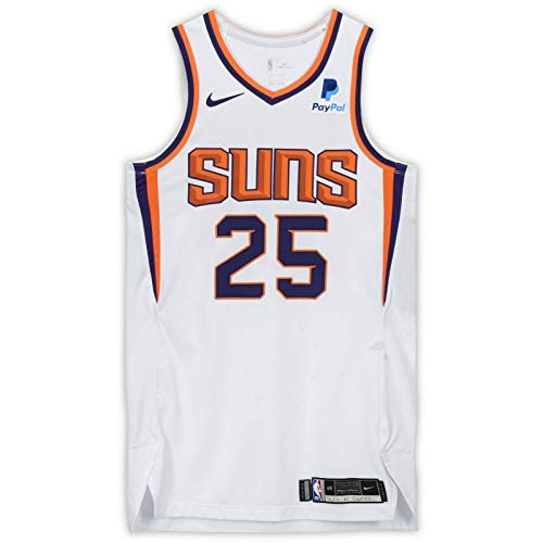 MIKAL BRIDGES Phoenix Suns Autographed Game-Used White Jersey from January 2, 2019 versus the Philadelphia 76ers FANATICS