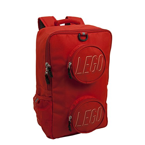 LEGO Brick Eco Backpack, Red, One Size