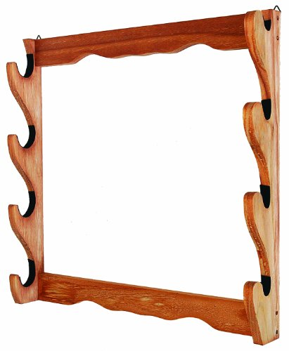 Allen Four Gun Wooden Wall Rack