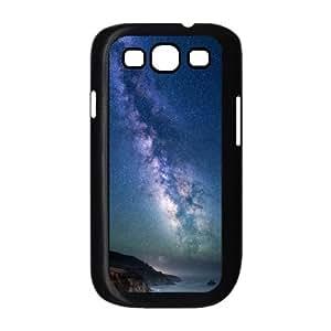 Milky Way over Sea Shore .png Samsung Galaxy S3 Case, Case Kweet {Black}