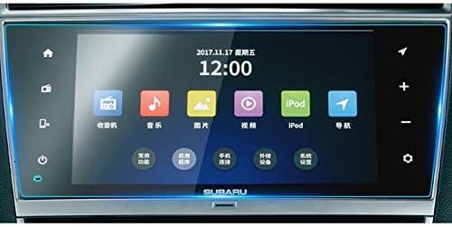 XHULIWQ 9インチカーナビゲーションスクリーンプロテクターセントラルコントロールスクリーン保護フィルム、スバルレガシー2018