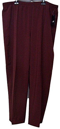 New Balance All Conference Mens Workout Warm Up Track Pant Burgundy/Wine