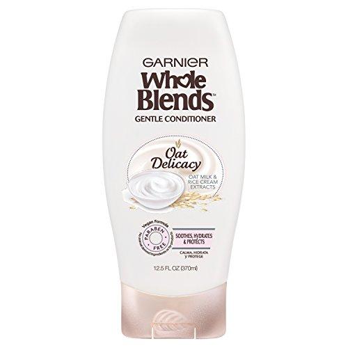 Garnier Whole Blends Gentle Conditioner Oat Delicacy, For Sensitive Scalp, 12.5 fl. oz.
