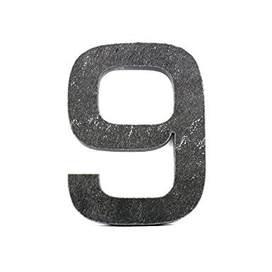Hausnummer Euromode aus Schiefer-//