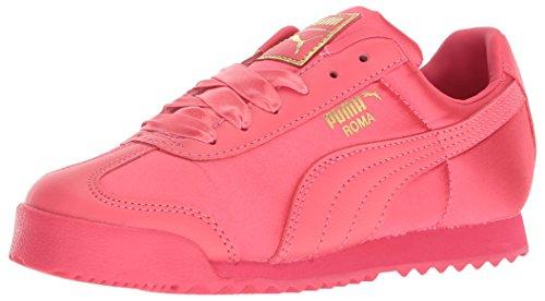 PUMA Baby Roma Satin Kids Sneaker, Paradise Pink Team Gold, 9 M US Toddler