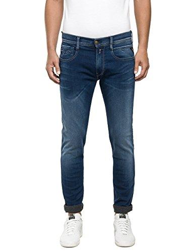 REPLAY Anbass, Jeans Hombre Azul (Blue Denim 009)