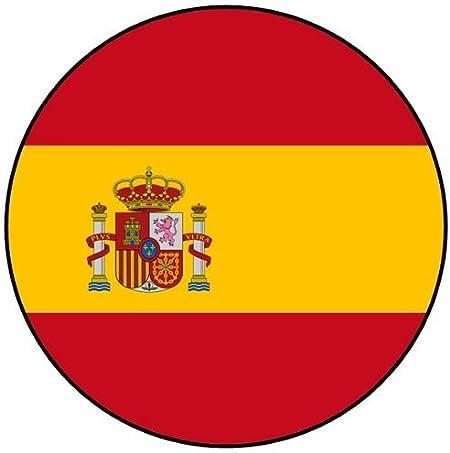España – Euro 2016 – Equipo (emblema de la bandera/insignia/imán/llavero abrebotellas), Magnet (58mm), Spain Flag: Amazon.es: Hogar