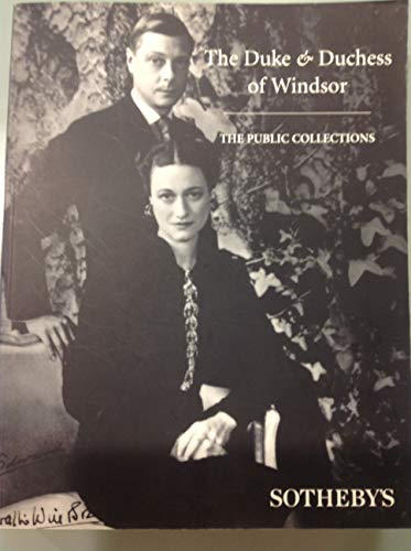 Property from the Collection of The Duke & Duchess of Windsor: The Public Collection, The Private Collection, Information (The Duke And Duchess Of Windsor Sotheby)