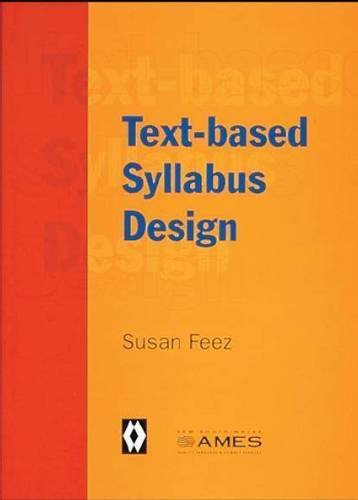 Text Based Syllabus Design