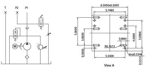 car lift hydraulic power unit (220v) 60hz 1ph amazon com basic hydraulic schematic diagram car lift hydraulic power unit (220v) 60hz 1ph amazon com industrial & scientific