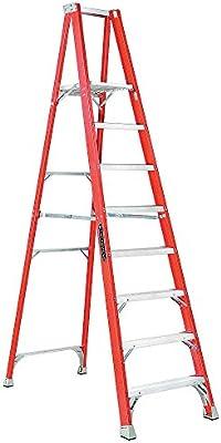 Plataforma escalera, 7 pies. 8,