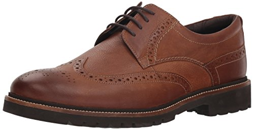 Rockport Men's Marshall Wing Tip Shoe, fawn, 12 M US