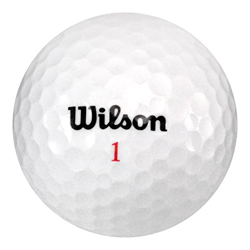 Wilson Recycled Golf Balls 72 Ball Assorted Grade A Mint Condition Recycled Golf Balls by Wilson