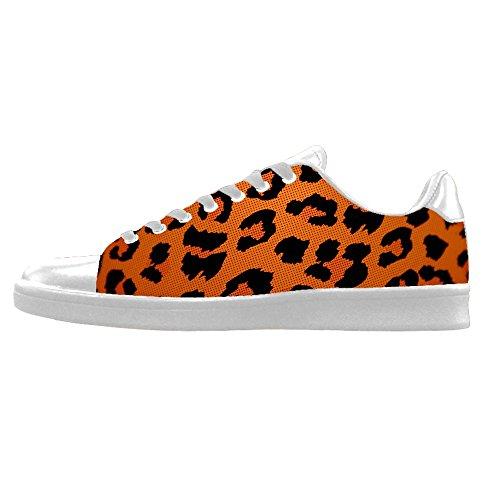 Custom Stampa leopardo Mens Canvas shoes I lacci delle scarpe in Alto sopra le scarpe da ginnastica di scarpe scarpe di Tela. Baratos Últimas Colecciones Oj3VlCy