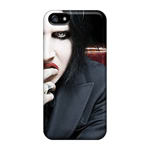 Excellent Design Music Marilyn Manson Case Cover For Iphone 5/5s