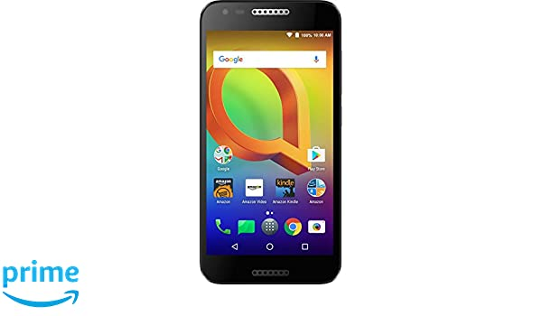 Alcatel A30 GSM - 16 GB - Black - Unlocked - Prime Exclusive - with Lockscreen..