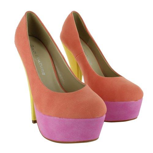 Footwear Sensation - Sandalias de vestir para mujer rosa - multicolor
