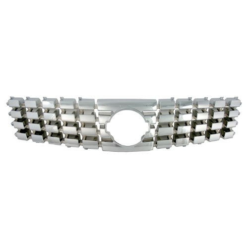 Bully  GI-60 Triple Chrome Plated ABS Snap-in Imposter Grille Overlay, 1 Piece ()