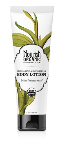 Nourish Organic Pure Unscented Hydrating and Smoothing Body