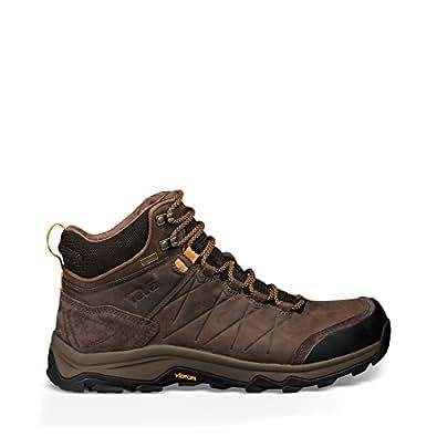 Teva Men's Arrowood Riva Mid WP Hiking Boots, Turkish Coffee, EU 41, 8 US
