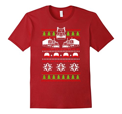 Trucker Ugly Christmas Sweater Shirt