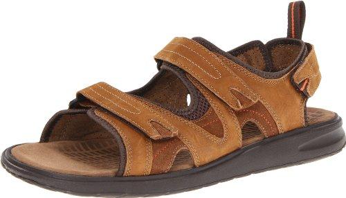 Clarks Mens Caicos Sandal Tan