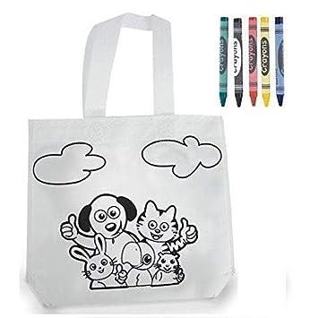 DISOK Lote 20 Bolsas Mochilas Petate Emoticonos - Bolsa Infantil Fiestas cumpleaños, comuniones y Eventos. Infantiles, Niños, Niñas