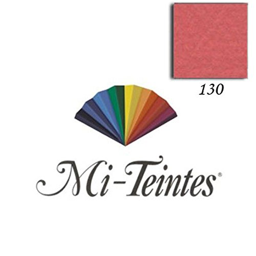 Papel Mi-Teintes 160 g/m² 50 x 65 cm Canson Avulso 130 Red Earth