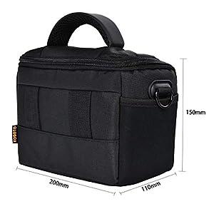 FOSOTO Waterproof Anti-shock Camera Case Bag Compatible for Canon Powershot SX540 SX530 SX60 SX420 HS M5,Nikon Coolpix…
