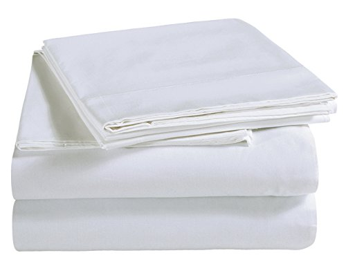 600 Tc Solid Sheet Set (Bresanon Luxury Ultra Soft 100% Egyptian Cotton Quality 600 TC Solid Sheet Set 16