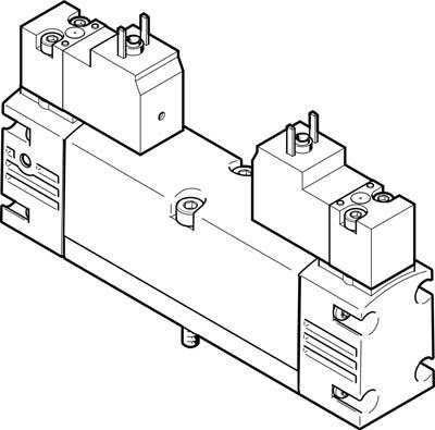 Festo 546704 Model VSVA-B-P53U-H-A1-1C1 Solenoid Valve