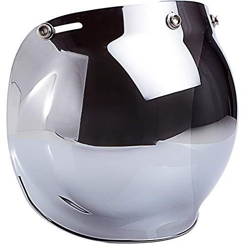 open face helmet chrome - 3