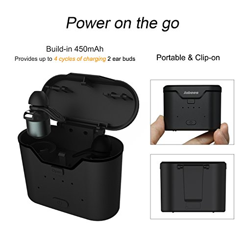0e011e38bf8 30%OFF Jabees True Wireless Earbuds with Charging Case BTwins by, Mini  Wireless Bluetooth