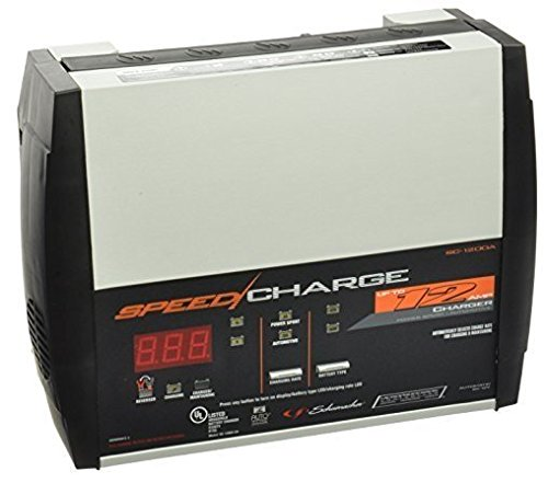 Schumacher SC-1200A-CA SpeedCharge 12Amp 6/12V Fully Automatic Battery Charger - 12 Volt Rv Battery
