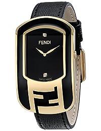 Fendi Women's F311431011D1 Chameleon Analog Display Quartz Black Watch