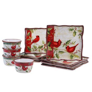 Certified International Winter Wonder 12-piece Dinnerware Set by Certified International