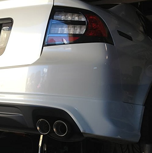 Amazoncom Acura TL Dual Quad Burn Style Stainless - Acura tl exhaust
