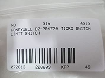 NEW IN PACKAGE MICRO SWITCH LIMIT SWITCH BZ-2RN770