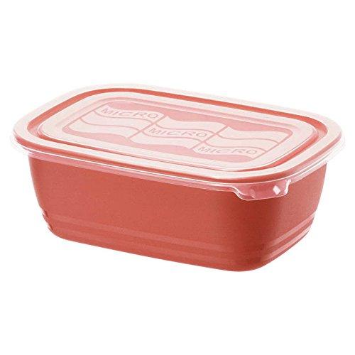 Rotho 2043999 Cuadro de Eco para Microondas Rojo 1.9L: Amazon.es ...